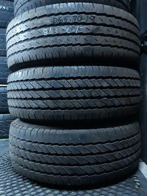 (3)* 265/70/17 Michelin LTX for Sale in Salt Lake City, UT