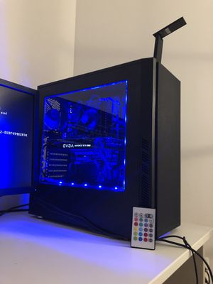 GAMING PC | DESKTOP | WIFI | COMPUTER | i5-2400 | GTX 1060 | 8GB OF RAM | CONTROLLABLE RGB for Sale in Silver Spring, MD