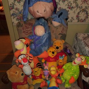 Pooh Bear Plush Toys for Sale in Cleveland, OH