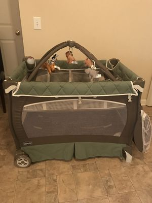 Chicco Lullaby LX playard with music and nitelite for Sale in Nashville, TN