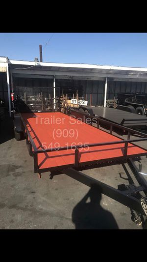 Brand new 8.5x20x1 utility trailer for Sale in Rancho Cucamonga, CA