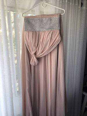 A-Line/Princess One-Shoulder Floor-Length Chiffon Prom Dress With Ruffle Beading for Sale in Glendale, AZ