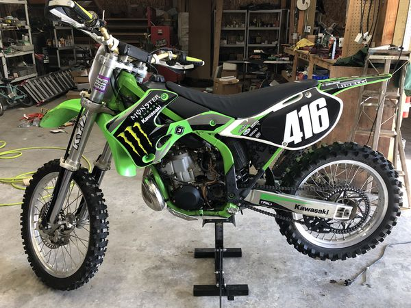 Strange 2002 Kx250 Reduced Price For Sale In Centralia Wa Offerup Bralicious Painted Fabric Chair Ideas Braliciousco
