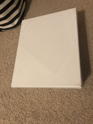 """5 - 8"""" x 10"""" White Canvases for Sale in Pittsburgh, PA"""