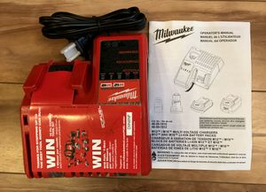 Milwaukee M12 and M18 12-Volt/18-Volt Lithium Multi Battery Charger for Sale in Vancouver, WA