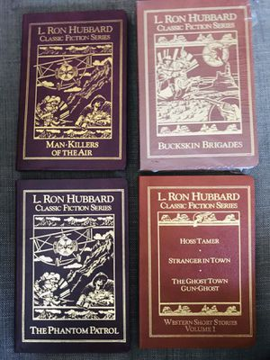 Used, 4 Rare first edition L Ron Hubbard leather bound books for Sale for sale  Los Angeles, CA