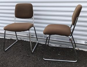MCM Chrome Side Chairs Antique- $35 each OBO for Sale in Middletown, CT