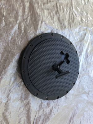 """9"""" Deck plate, locking port hole for kayak or other boat for Sale in Mesa, AZ"""