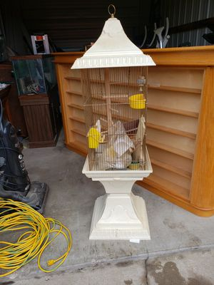 Beautiful bird cage very unique piece for Sale in Barberton, OH