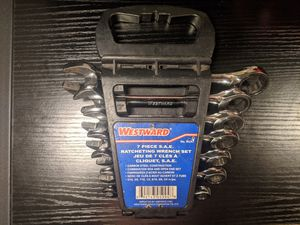 Westward S.A.E 7 Piece Ratcheting Set for Sale in Seattle, WA