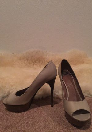 Burberry open toe pumps 9-9.5 for Sale in Las Vegas, NV
