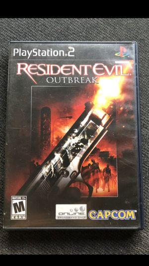 Resident evil outbreak for Sale in Antioch, CA