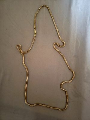 10k Yellow Cuban link gold chain for Sale in Laurel, MD