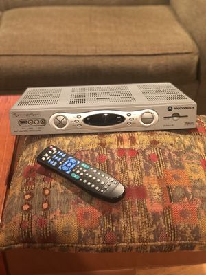 Motorola DVR with remote for Sale in Arvada, CO