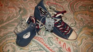 Exclusive Superman Converse All Star Chuck Taylor for Sale in Columbus, OH