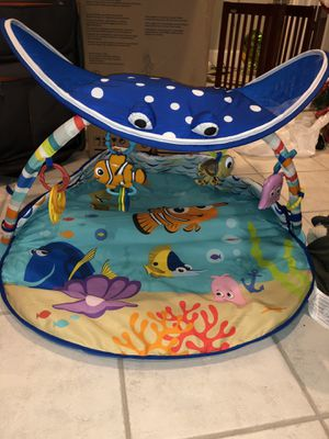 Finding Nemo play mat -$20 LIKE NEW- moving sale tons of baby toys/stroller/bouncer etc for Sale in Westwood, MA