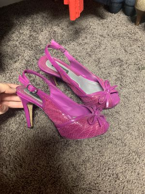White House Black Market Magenta Heels Size 6 for Sale in Coppell, TX