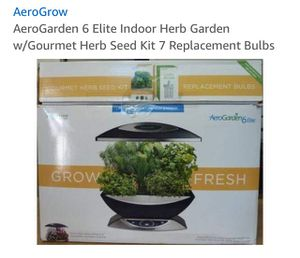 AeroGarden 6 Elite Indoor Herb Garden for Sale in Fairfax, VA