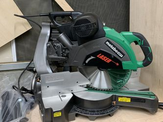 Metabo HPT C12RSH2 sliding dual compound miter saw for Sale in Everett,  WA