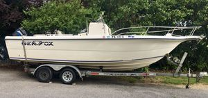 2002 Sea Fox 23ft Fishing Boat With A Bathroom for Sale in York, PA