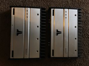 2-JL AUDIO 500 Watt Amps for Sale in Washington, DC