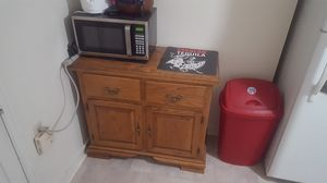 Buffet and microwave for Sale in Frederick, MD