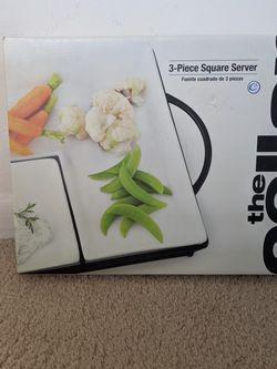 3-piece Square Server for Sale in McLean,  VA