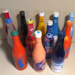 12 Vintage NSDA Convention Decorative Bottles Atlanta Chicago Philly Disneyland Etc for Sale in Henderson, NV