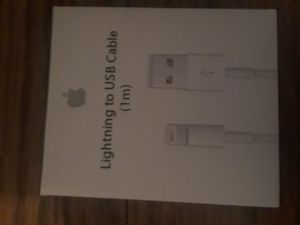 Apple usb lightning cord for Sale in Olivette, MO