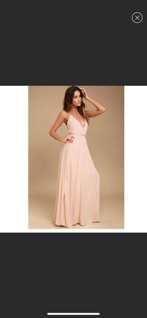Lulus blush dress for Sale in Ramona, CA