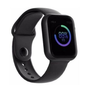 Black new model Android & iPhone Bluetooth smart watch heart rate, blood pressure, exercise, music, calling, sms, social media for Sale in Phoenix, AZ