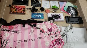 Brand new makeup with 2 Victoria Secret totes bags for Sale in Las Vegas, NV