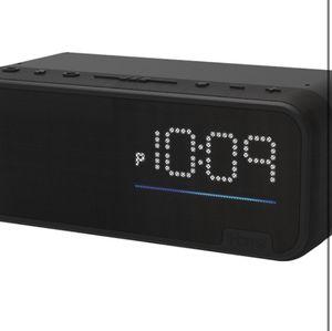 iHome Alarm Clock/Alexa Voice control Bluetooth speaker for Sale in Richmond, VA