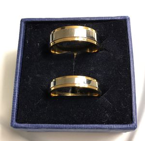 Unisex 18K Gold plated Engagement Matching Ring Set- Code ALT56 for Sale in Dallas, TX