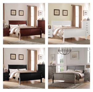 Queen size bed frame special $299 (no credit financing available) for Sale in Taylor, PA