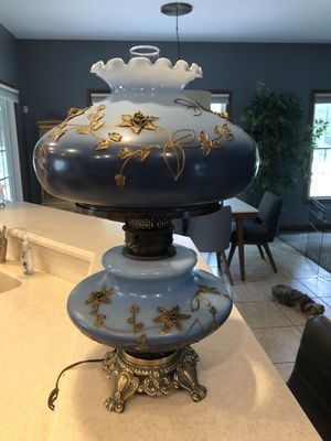 Antique Fenton Lamp for Sale in Canton, OH