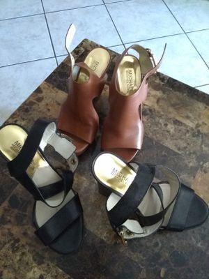 Michael kors shoes..both for$30 for Sale in Phoenix, AZ