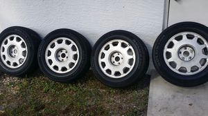 Lexus rims and tires but will fit on many cars for Sale in West Palm Beach, FL