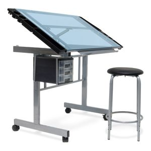Glass Drawing Table for Sale in Los Angeles, CA