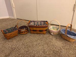 Longaberger Baskets for Sale in Chandler, AZ