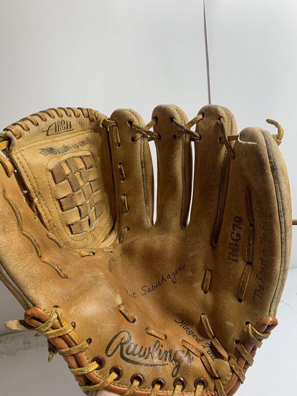 "Rawlings RBG70 11.5"" RHT Leather Baseball Glove Derek Jeter Signature Model"