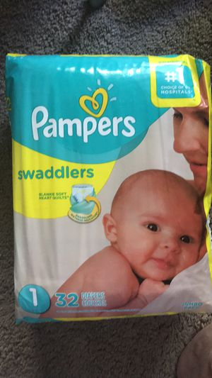 Pampers Swaddlers size 1 for Sale in San Marcos, CA