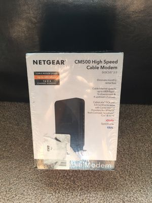 NetGear high speed cable modem for Sale in Nashville, TN