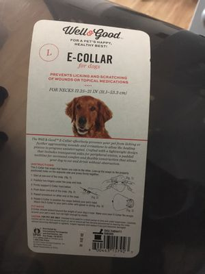 Cone/ E-collar/ for Large dog for Sale in Orlando, FL