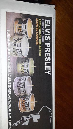 Brandnew in box elvis presley candles for Sale in Tacoma, WA