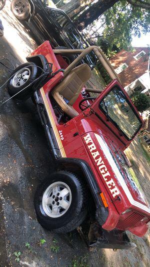 1988 Jeep Wrangler YJ for Sale in Richmond, VA