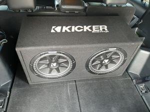 "2 12"" kicker subs for Sale in La Mirada, CA"