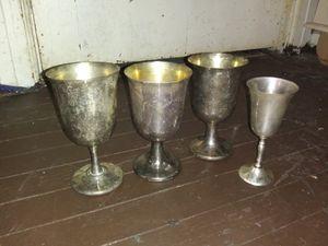 Silver glasses for Sale in Abilene, TX