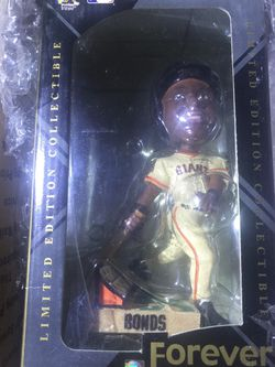 mint Vintage Sf Giants Barry Bonds 2003 Bobble Head Forever Collection Legends Of The Diamond for Sale in Gold River,  CA