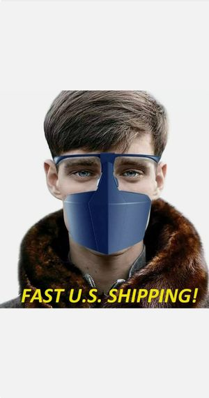 12 pc. Reusable Face Shields Washable Anti Saliva Protection Masks for Sale in Brooklyn, NY